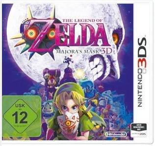 [Lokal Saturn Bremen] Nintendo 3DS - The Legend of Zelda: Majora's Mask 3D - für 25€