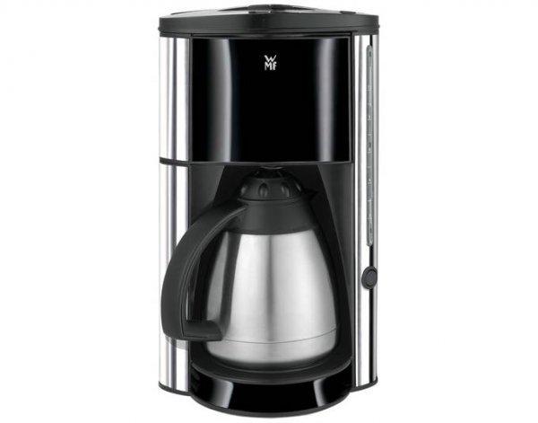 [ejoker] WMF Kaffemaschine Nero, Edelstahlthermokanne, 900 Watt, 10 Tassen, Automatische Abschaltung, Edelstahl/Schwarz
