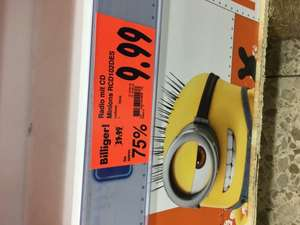 Minions CD Player 9,99€ Lokal Kaufland Heilbronn