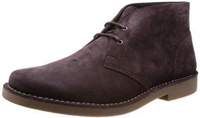 Schuhe - Clarks Farson Mid Herren Desert Boots