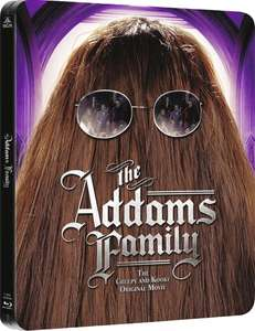 The Addams Family (Blu-ray) Limited Steelbook für 12,15€ bei Zavvi.de