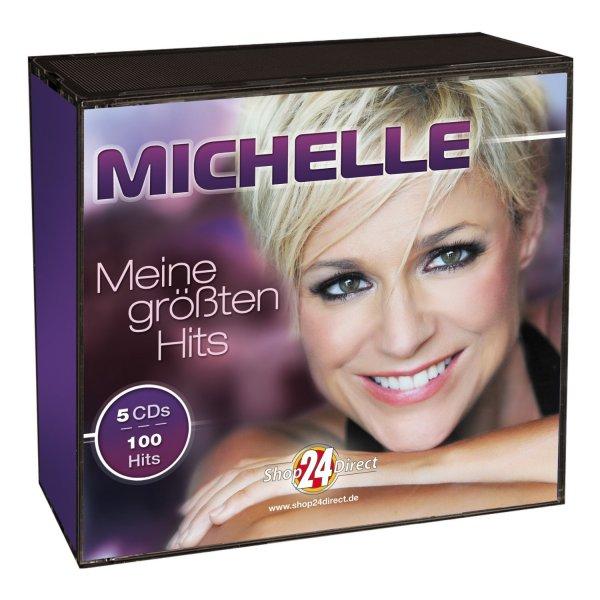 Shop24Direct über Amazon -  Michelle - Meine größten Hits (5 CDs) - Nur 22,99 € inkl. Versand
