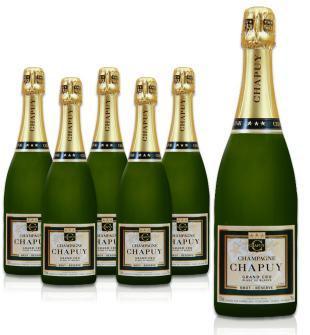 Chapuy Grand Crue Champagner Schnäppchen für 16,65€ pro Flasche (99,90€ 6er Karton)