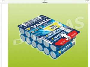 AUSVERKAUFT  VARTA HIGH ENERGY AA MIGNON LR6 4906 in 12er Big Box in Recklinghausen Kaufland