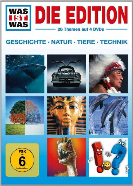[Amazon Prime] WAS IST WAS: Die Edition (Boxset, 4 DVDs) für 14,97€