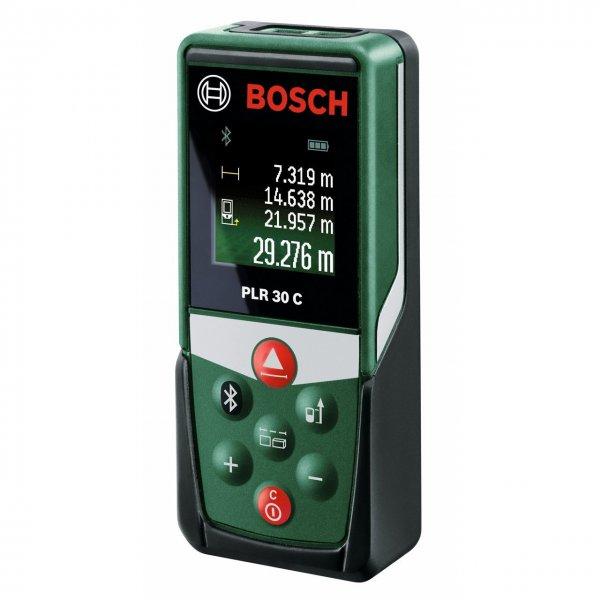 Bosch PLR 30 C Laser-Entfernungsmesser für 67,68€ bei Amazon.fr