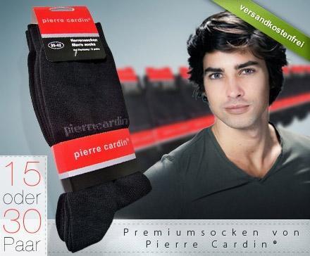 15 oder 30 Paar Premium Socken von Pierre Cardin