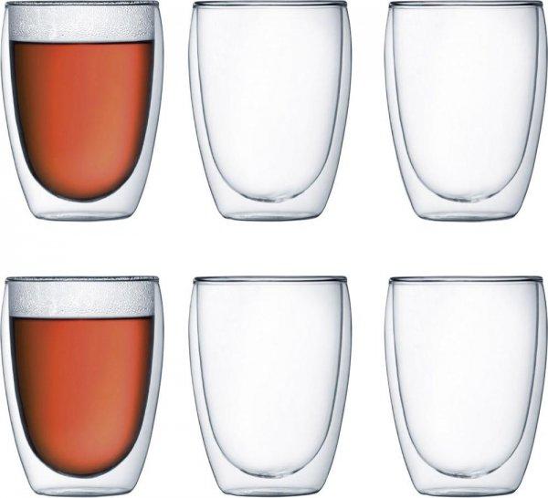 Bodum Pavina Glas doppelwandig 0,35 Ltr. 6er Set für 33,49€ @ Voelkner