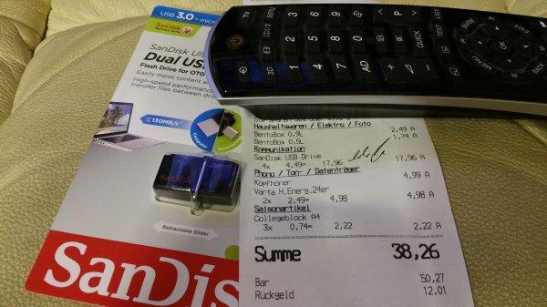 [Senftenberg] Kaufland SanDisk 64GB DualUSB
