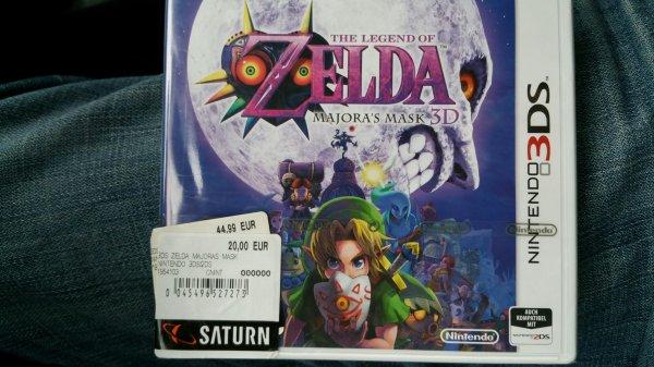 Lokal Saturn Leonberg :Legend of Zelda: Majora's Mask 3DS