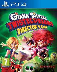 [Amazon.co.uk] Giana Sisters: Twisted Dreams Directors Cut - Playstation 4 - für 15,79€ inkl. Versand