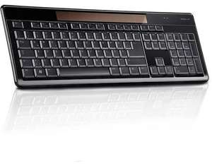 Speedlink CELES Wireless Solar Keyboard black (DEU Layout - QWERTZ) B-WARE für 16,31 € @ Allyouneed