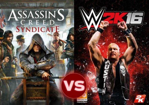 [Saturn Berlin/Potsdam] Assassins Creed Syndicate und WWE 2K16 für PS4 und Xbox One für je 29€