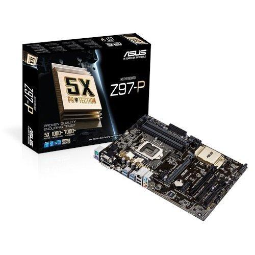 [Amazon] Asus Z97-P Mainboard Sockel LGA1150 (ATX, Intel Z97, 4x DDR3-Ram, PCIe 3.0/2.0 x16, 4x SATA) für 42,71€ PVG ab 96,99€