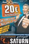 100€ kaufen 20€-Gutschein bekommen @Saturn (nur Osnabrück?)