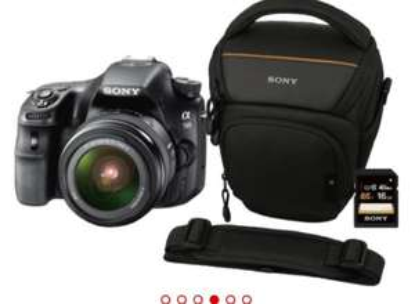 (Media Markt Ludwigsburg) Sony SLT-A58 inkl Tasche und 16GB Speicherkarte