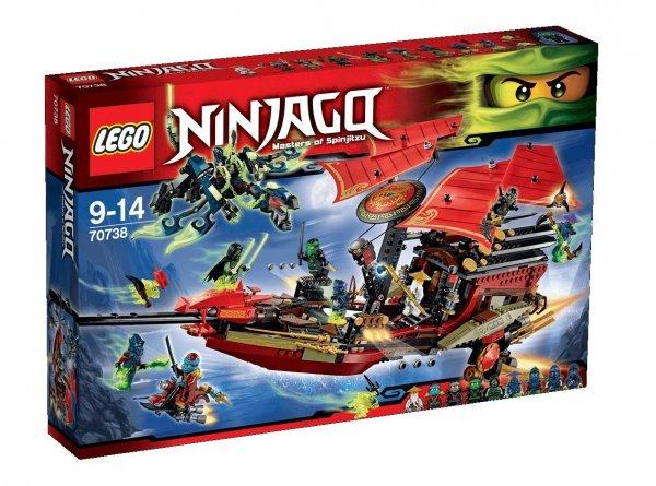 LEGO Ninjago 70738 - Der letzte Flug des Ninja-Flugseglers bei amazon.fr für 85,37 €