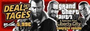 GTA 4 - The Complete Edition [PC] für 5,99 € (Steam-Code, McGame/Heise)