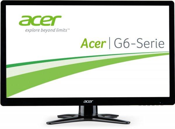 [Amazon Blitzangebot] Acer G246HLBbid 61 cm (24 Zoll) Monitor (VGA, DVI, HDMI, 2ms Reaktionszeit) schwarz