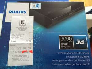 [Kaufland] Blu-ray Player Philips BDP2190