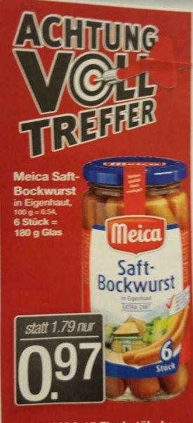 [Markant Nordwest] Meica Saftbockwurst für 0,97 EUR statt 1,79 EUR - ab 22.2.