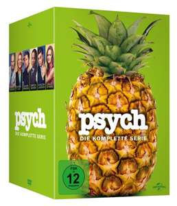 Psych - Die komplette Serie [Limited Edition] [31 DVDs] für 67,97€ bei Amazon.de