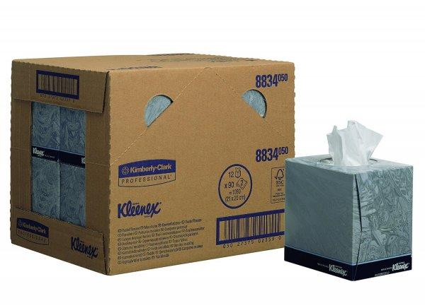 [Amazon Marketplace] für den Nachttisch: 12x KLEENEX Kosmetiktücher in der Würfel-Box ab 9,52 € = 0,79 €/Box