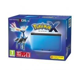 Nintendo 3DS XL Blau + Pokémon X (3DS) für 149€ bei TGC