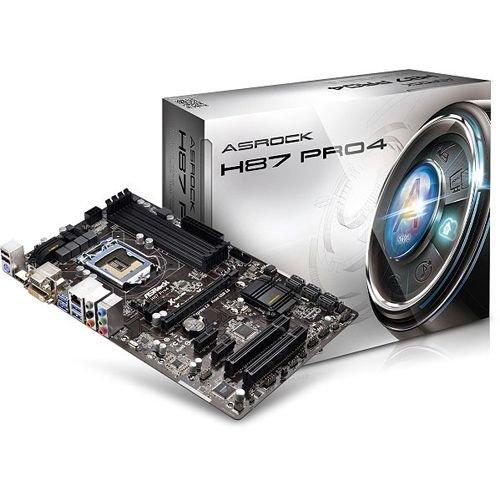 ASRock H87 Pro4 Intel H87 So.1150 Dual Channel DDR3 ATX