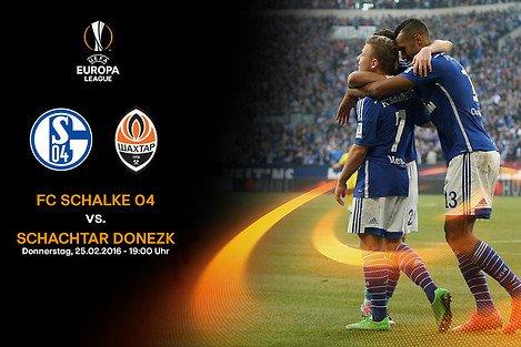 Schalke Heimspiel in der Europa League gegen Schachtar Donezk! Zwei Tickets zum Preis von einem