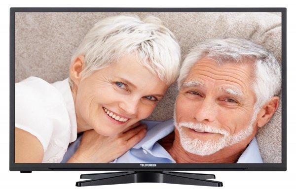 Blitzangebot: Telefunken D32H278I3 Senioren 81 cm (32 Zoll) Fernseher (HD Ready, Triple-Tuner, Komfort-Fernbedienung)  @199,99 Euro