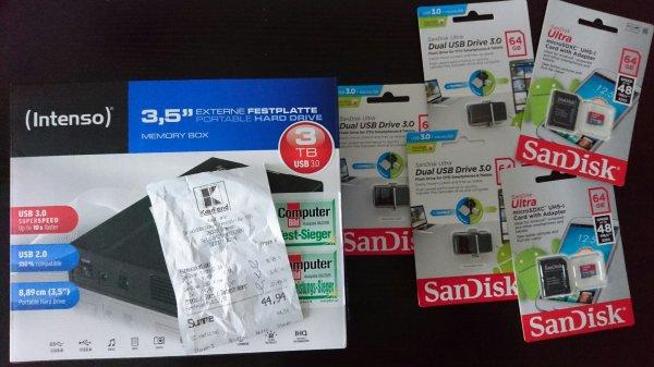 [Kaufland] USB Sticks 64gb für 4,49€ / Micro SD Karten 64gb für 4,49€
