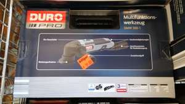 Multifunktionswerkzeug Oszillationsgerät DURO Pro 300W [lokal Aldi Essen Alte Bottroper Str.]