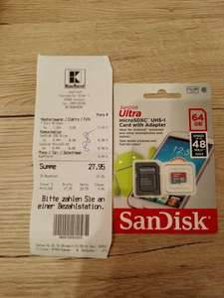 SanDisk Ultra microSDXC 64GB Kaufland Paunsdorf