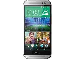 "HTC One (M8), Smartphone, 4G, 16 GB, 5"" 1.920 x 1.080 Pixel, Glacial Silver/Gunmetal Grey @Allyouneed"
