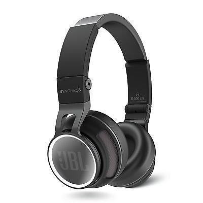 [ebay-harmanfactoryoutlet] JBL Synchros S400BT Bluetooth Kopfhörer in Weiß und Schwarz für 129€ anstatt 174€(schwarz)/209,95€(weiß) - GERINGE STÜCKZAHL
