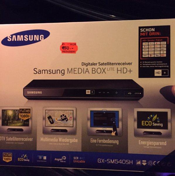 Samsung GXSM540SH/ZG Media Box Lite HD+ Kauflandda Wetter Ruht
