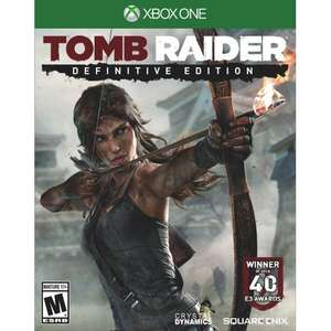 (Deals with Gold) Tomb Raider Definitive Edition Xbox One nur 7,50!