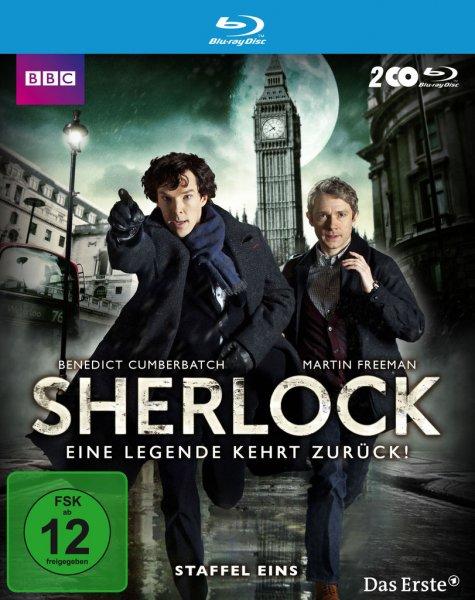 Sherlock Staffel 1 für nur 4,76€ Blu Ray auf Hitmeister