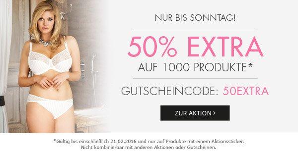 50% extra auf 1000 reduzierte Produkte bei Enamora
