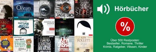 931 Hörbücher ab 1,99€ bei Terrashop versandkostenfrei