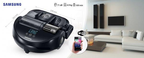 [Schweiz Qoqa.ch] Samsung Powerbot VR 9200 - Staubsaug-Roboter mit stärkster Saugkraft und Wifi für 499 CHF + 9 CHF Versand