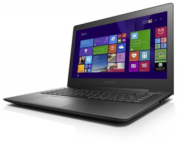 "Lenovo U41-70 Ultrabook (14"" Full HD AG, Intel Core i7-5500U, 8 GB RAM, 256 GB SSD, Nvidia GeForce 940M (2GB), Windows 10) für 799€ bei Amazon.de"