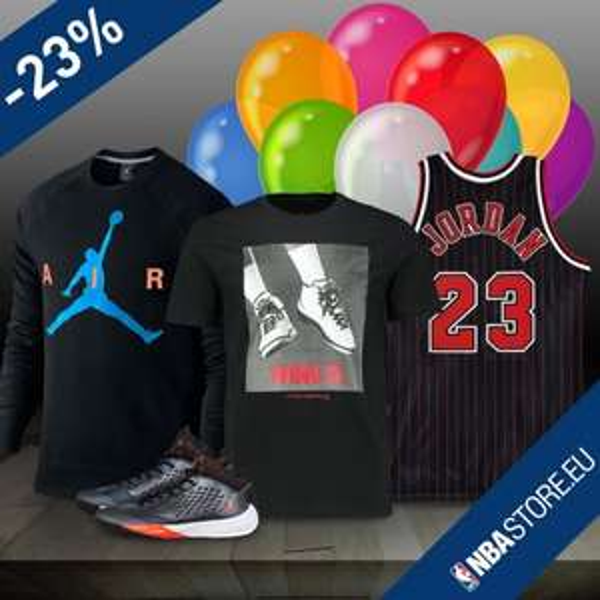 Happy Birthday Michael! 23% auf Jordan Brand im NBA Store EU