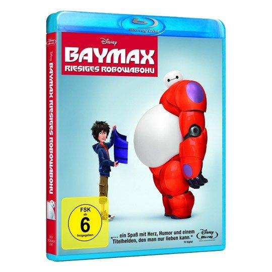 (Real.de) Baymax - Riesiges Robowabohu (Blu-Ray) für 9,99 EUR