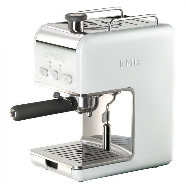 [Amazon.de] [WHD] Kenwood ES 020 kMix Espressomaschine Siebträger, 15 bar / 1 Liter / weiß