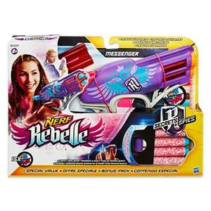 Nerf Rebelle Messenger inkl. 15 Darts Real On- und Offline PVG ab 16,99 inkl 5 Darts
