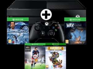 [MediaMarkt.at] Xbox One 500GB + FIFA16 + LocoCycle + Max + Rare Replay + 1 Monat EA Access um 311€ inkl. Versand nach DE