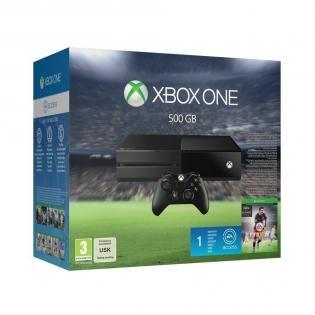 Microsoft Xbox One Konsole - 500 GB plus Fifa16  B-Ware Einzelstueck