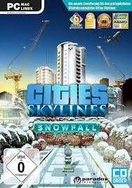 Cities Skylines DLC Snowfall